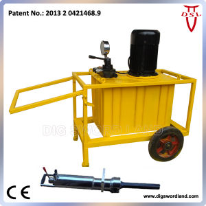 Fast Speed Electric Motor Hydraulic Rock Splitter