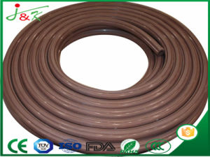 Extruded Soft/Elastic 6mm Natural Brown Rubber Cord pictures & photos