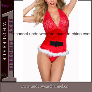 Hot Sale Sexy Women Christmas Party Costume Lingerie (TFQQ0964) pictures & photos