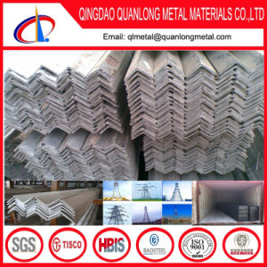 Steel Galvanized Angle Iron with Hole Punched pictures & photos