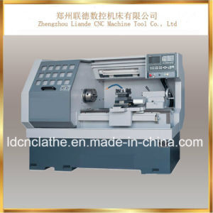 China High Accuracy Small CNC Lathe Machine Manufacturer pictures & photos