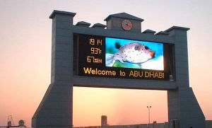 Outdoor P10 Full Color Advertising Video LED Display pictures & photos
