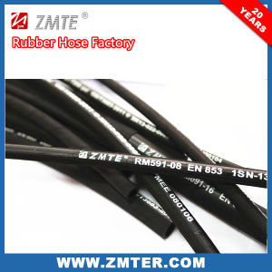 SAE 100 R2 Hydraulic Flexible Rubber Hose pictures & photos