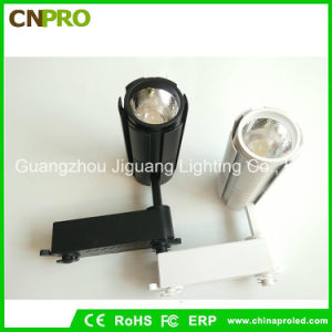 COB 15W LED Track Light for Commercial with Black or White Housing pictures & photos