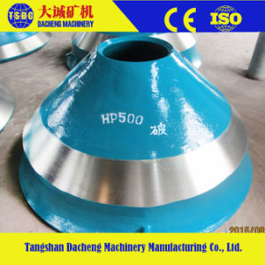 Crusher Manganese Parts Cheek Wear Bowl Liner pictures & photos