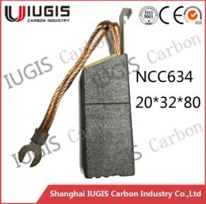 Carbon Brush for Power Plant Use Ncc634 Factory Price pictures & photos
