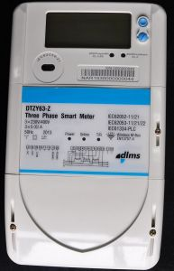Three Phase Prepaid Smart Meter pictures & photos