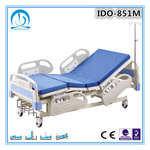 Ce/ISO Medical Five-Function Electric Hospital Bed pictures & photos