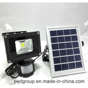 5W Rechargeable LED Flood Light with Solar Panle pictures & photos