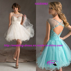 Unique Evening Dress Gowns with Beading pictures & photos
