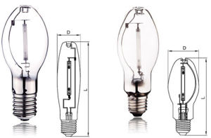Lu100W E40/E27 Sodium Lamp for North Amercian Standard pictures & photos