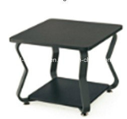 2015 Hot Sale Office Furniture Black Plastic Surface Tea Table (JO-6034-06)