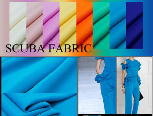 75D/36f Knitting Dyed DTY Scuba Fabric pictures & photos