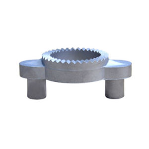Titanium Die Casting with Mirror Polishing Anodic Oxidation Surface pictures & photos