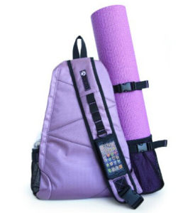 Sport Polyester Backpack Yoga Mat Carrying Bag pictures & photos