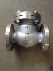 ANSI 150LB Stainless Steel Swing Check Valve pictures & photos