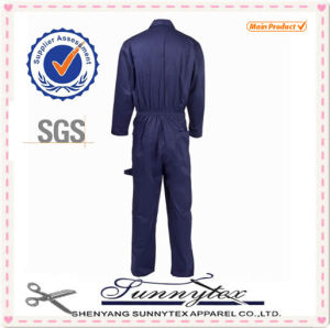 New Style Poly Cotton Workwear Coveralls pictures & photos