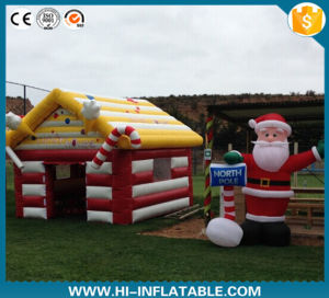 Hot! 2015 Christmas Decoration Inflatable Xmas House LED Christmas House pictures & photos