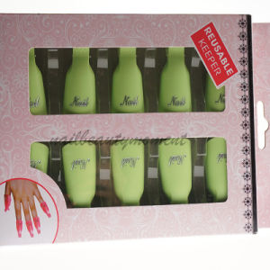 10 PCS Manicure Nail Cover Shield Polish Protector Kit (NT26)