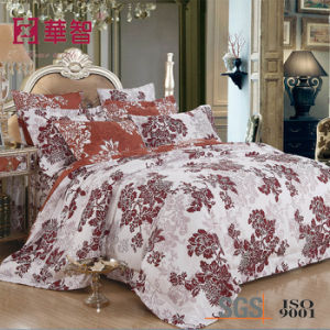 Pigment Print Polyester Bedding Sets 4PCS pictures & photos