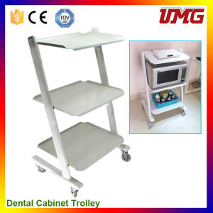 Trolley Tools Dental Clinic Cabinet with Cart Wheels pictures & photos