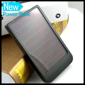2600mAh Mobile Phone Solar Power Bank Charger pictures & photos