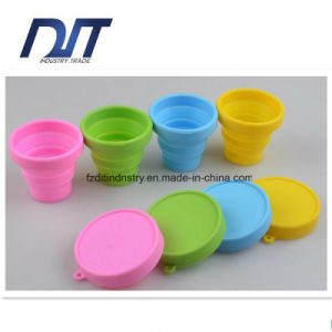 Wholesale Food Grade Non-Toxic Silicone Foldable Silicone Folding Cup pictures & photos