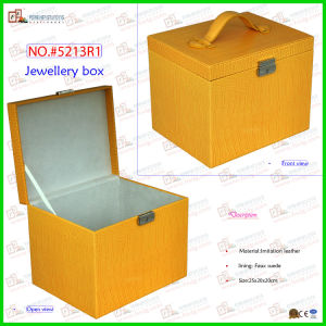 New Product Large Space Jewelry Storage Box (5213R1) pictures & photos