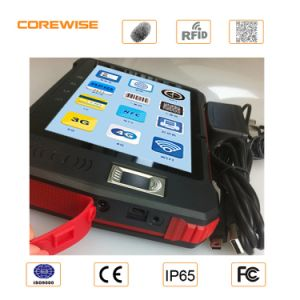 China Manufacturer Handheld Andorid Touch Screen UHF NFC Reader 915MHz pictures & photos