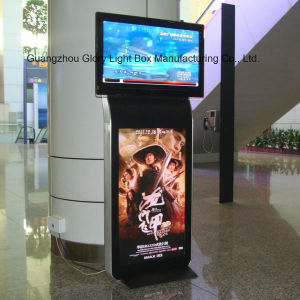 "Popular Model Restaurant 55"" Advertising Player Totem pictures & photos"