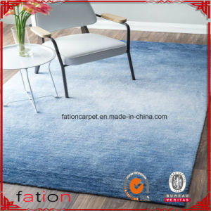 Modern Navy Blue 100% Polyester 5*8 Aera Rug Shaggy Carpet Shag Rug pictures & photos
