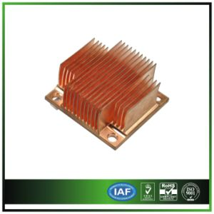 CNC Machining, Copper Skived Fins Heatsink pictures & photos
