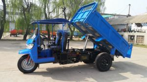 Waw Three Wheel Truck with Rops & Sunshade pictures & photos