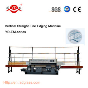 Ce (YD-EM-10) PLC Auto Vertical Straight Line Glass Polishing Edging Machine pictures & photos