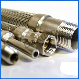 Braided2 Female Thread End Stainless Flexible Metal Hose