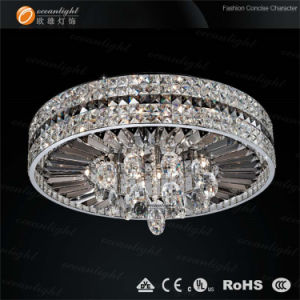 Drop Ceiling Light Fixture, Crystal Modern Ceiling Lamp, High Ceiling Lighting (OM8916-58) pictures & photos