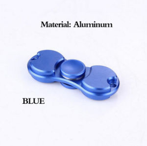 Fidge Hand Spinners Golden Aluminum Alloy 5colors Torqbar Ceramic Bearing Axis EDC Finger Tip Rotation Anxiety Toy. pictures & photos