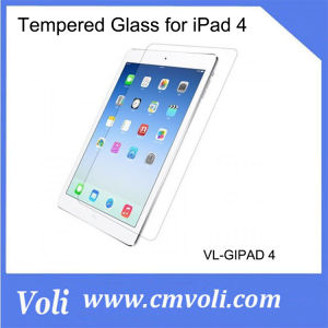 Tempered Glass Screen Protector for iPad 4 pictures & photos