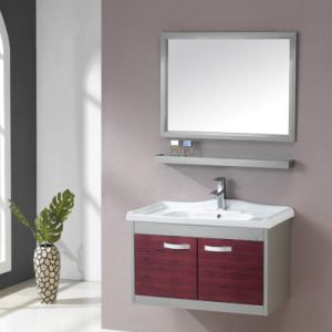 Professional Selling New Jane European Modern Bathroom Cabinet ,Stainless Steel Bathroom Cabinet pictures & photos