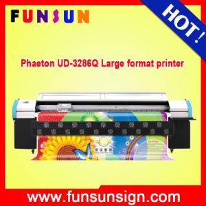 Best Price Phaeton Ud-3286q Solvent Digital Printer with Spt 508GS Head for Flex Printing pictures & photos