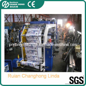6 Colour Plastic Film Bag Printing Machine (CH886) pictures & photos