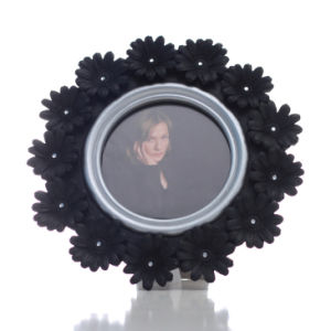 Resin Round Photo Frame for Home Decoration or Hotel Decoration