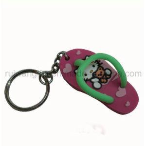 Custom Slipper 3D PVC Keychain pictures & photos