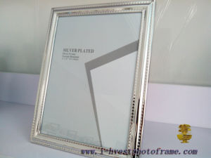 Iron Silver Plated, European Style Photoframe (APM14010)