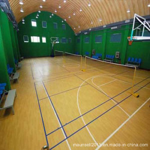 Indoor PVC Basketball Sports Roll Flooring pictures & photos