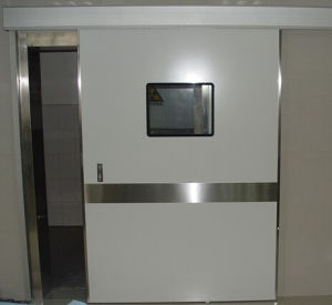 Aluminum Medical Automatic Door (DS-M100-S) pictures & photos