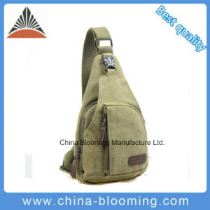 Travel Cross Body Canvas Single Shoulder Chest Sling Bag pictures & photos