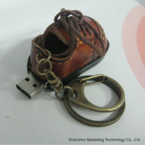 Fashion Shoes Shape USB Flash Drive Leather USB Flash Disk pictures & photos
