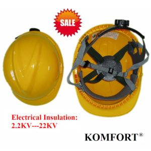 HDPE Industrial Safety Helmet for Electrical Work with CE, ANSI (JMC-323B) pictures & photos