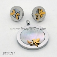 Stainless Steel Jewelry-Fashion Jewelry Set (SET0217)
